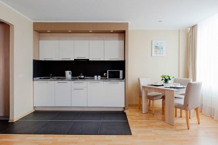 Номера апарт-отеля с мебелью: удобство